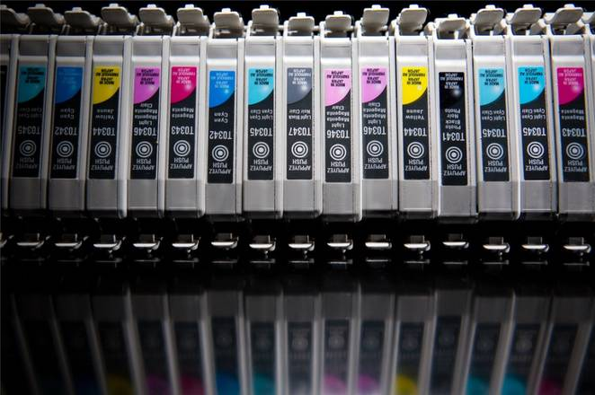 Turning pollution into printer ink